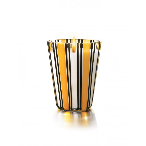 MURANO GLASS CANDLE - LINDEN