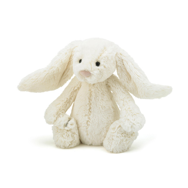 Peluche lapin Bashful Cream