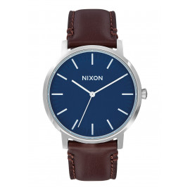 PORTER LEATHER 879 NAVY/BROWN
