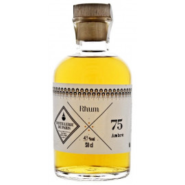Rhum Ambré 43% vol Distillerie de Paris 50 cl