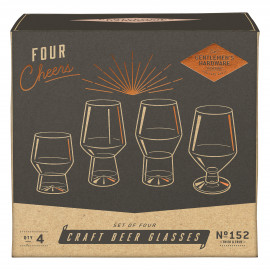 craft beers set of 4