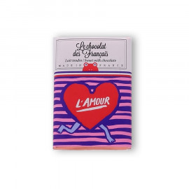 Tablettine Amour lait 30g