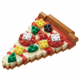 Mini series NANOBLOCK // Pizza