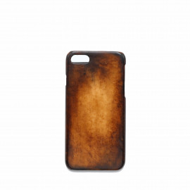 Coque iphone 7 patine marron