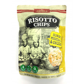 Chips de risotto moutarde au miel