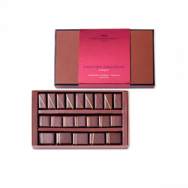 Coffret Emotion chocolat fruit
