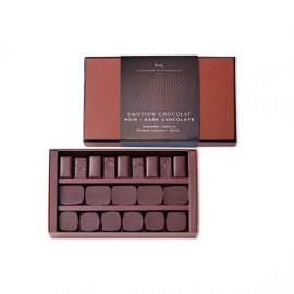 Coffret Emotion chocolat noir