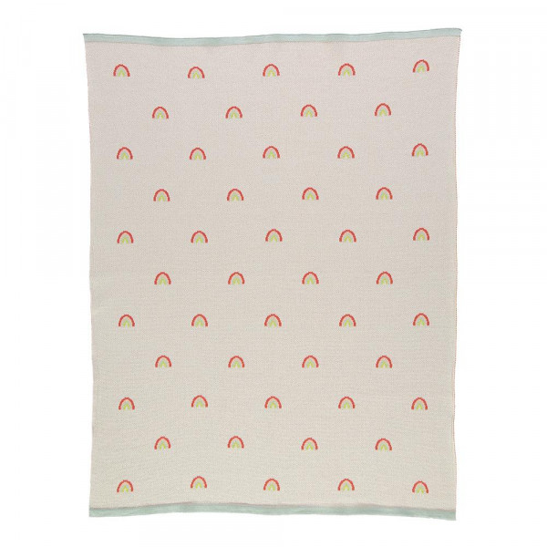 PE18 COUVERTURE TRICOT ARC EN