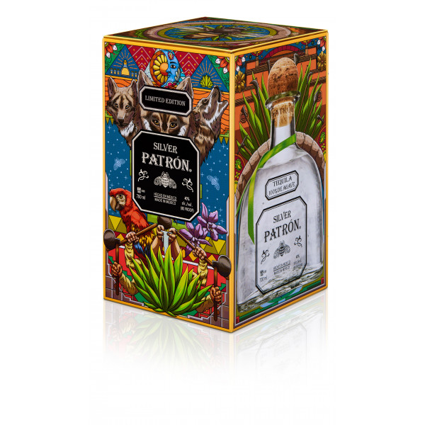 Tequila Patron Silver édition collector
