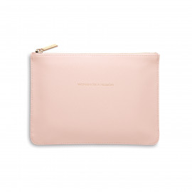Trousse medium blush