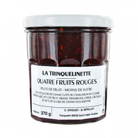 Confiture 4 Fruits Rouges 370g