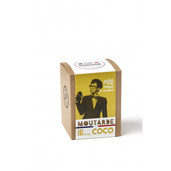 MOUTARDE CURRY COCO 190G