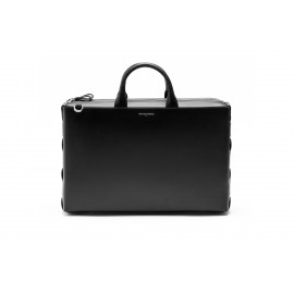 GRAND BRIEFCASE TRECCIA BLACK