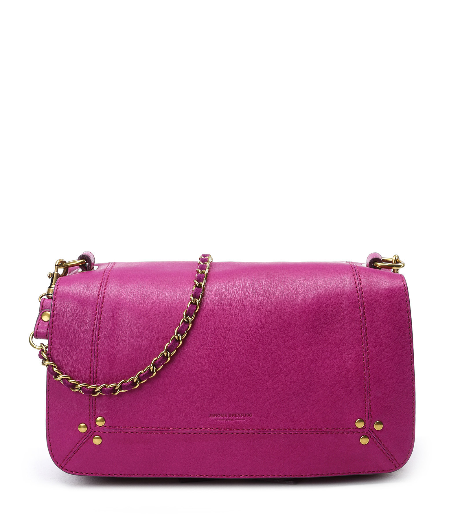 Bag Leather Work   Bobi pink bougainvillea - Jérôme Dreyfuss 1e8abe62d