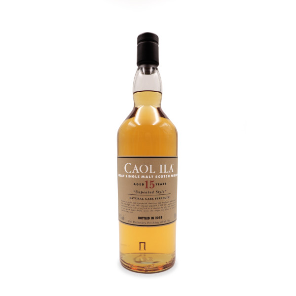 Whisky Caol Ila 15 ans Unpeated of 59,1%