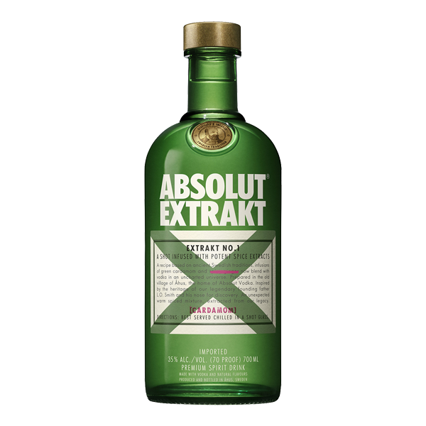 Absolut Extract Vodka - 70cl