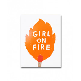 NOTEBOOK A6 GIRL ON FIRE