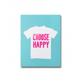 BOOK A6 CHOOSE HAPPY