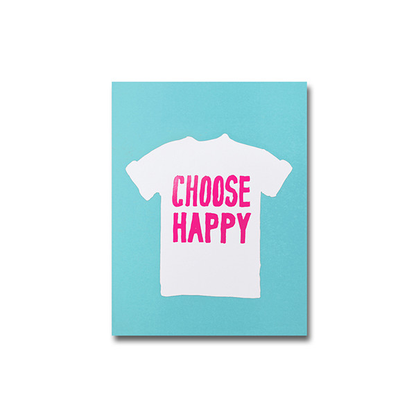 CARNET A6 CHOOSE HAPPY