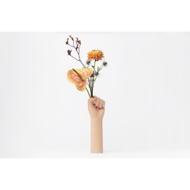 GIRL POWER VASE - WHITE