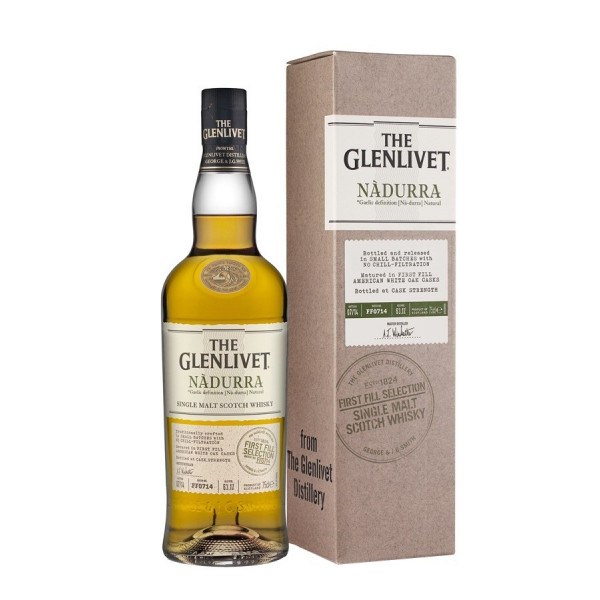 Whisky Glenlivet Nadurra First Fill 59,1% - 70cl