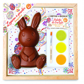 Chocolate Bunny to paint - 200G