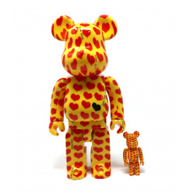 Bearbrick - Yellow Heart