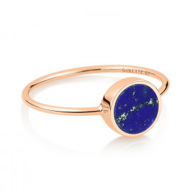 Bague - Mini Ever Lapis Disc Ring