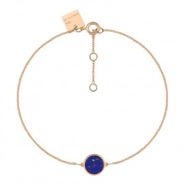 Mini Ever Lapis Disc Bracelet