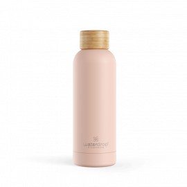 Stainless steel Pastel bottle 500 ml - Pastel red