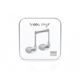 Ecouteurs intra-auriculaires silver