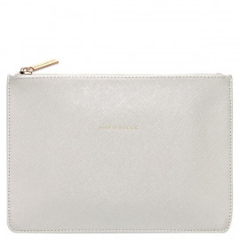 Believe In Magic silver clutch