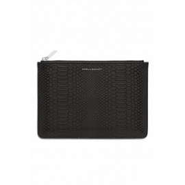 Medium Pouch Black Snake-effect