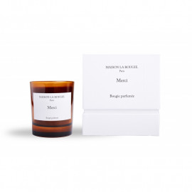 """""""Merci"""" scented candle - 200g"""