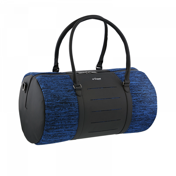 Jet Millenium Messenger Black and Blue Travel Bag