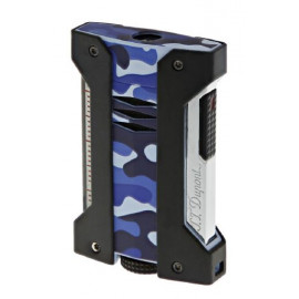 Blue Camouflage Extreme Challenge Lighter