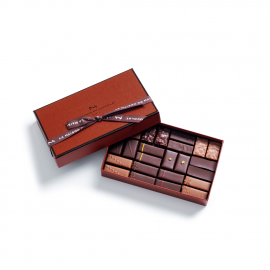 Maison Noir & Lait box of 24 chocolates