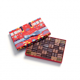 Maison Cracker Dark and Milk 84 Chocolates Box
