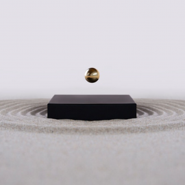 Buda Ball - levitating golden sphere