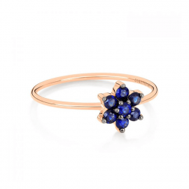 Bague Single Saphir Star