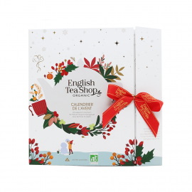 White Advent Calendar of organic teas and infusions