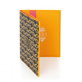 Pipo 2c Mocaccino Coated Canvas Card Holder