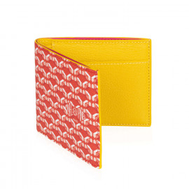 Manhattan Wallet 7c Red Poppy