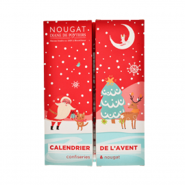 Advent calendar nougats