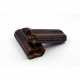 Case 2 wide cigars 23 caliber taupe