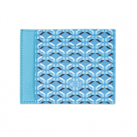 Pierrot card holder - Azure Blue