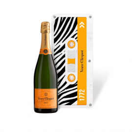"Box of champagne ""Tape"", Limited Edition - Zebra"