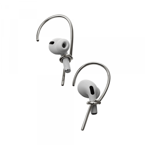 Hook, Airpods Jewelry - Silver