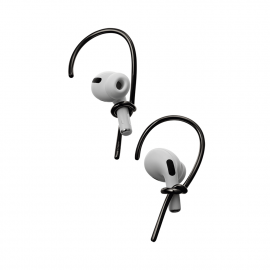 Hook, Bijoux d'AirPods - Black
