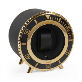 Watch Winder Twin Sub Black and Gold